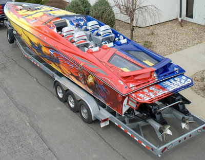 Monroe Truck Equipment >> Split Decision - The Customized 2008 Baja 40 Outlaw | Boat Trader - WaterBlogged