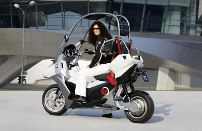 Bike Trader California The BMW C E A Concept For a