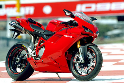Stylish sports bikes