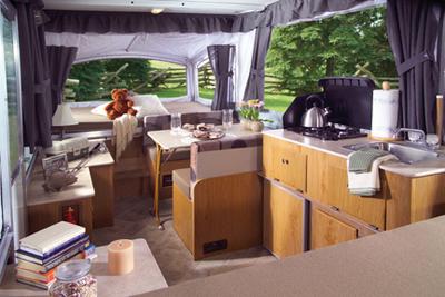 coleman tent trailers floor plans Floor