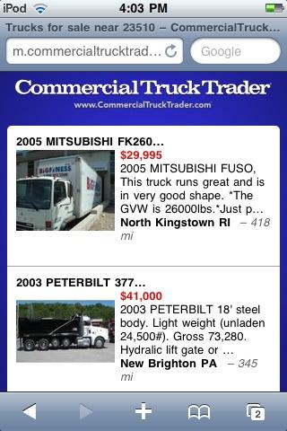 Truck Trader Online