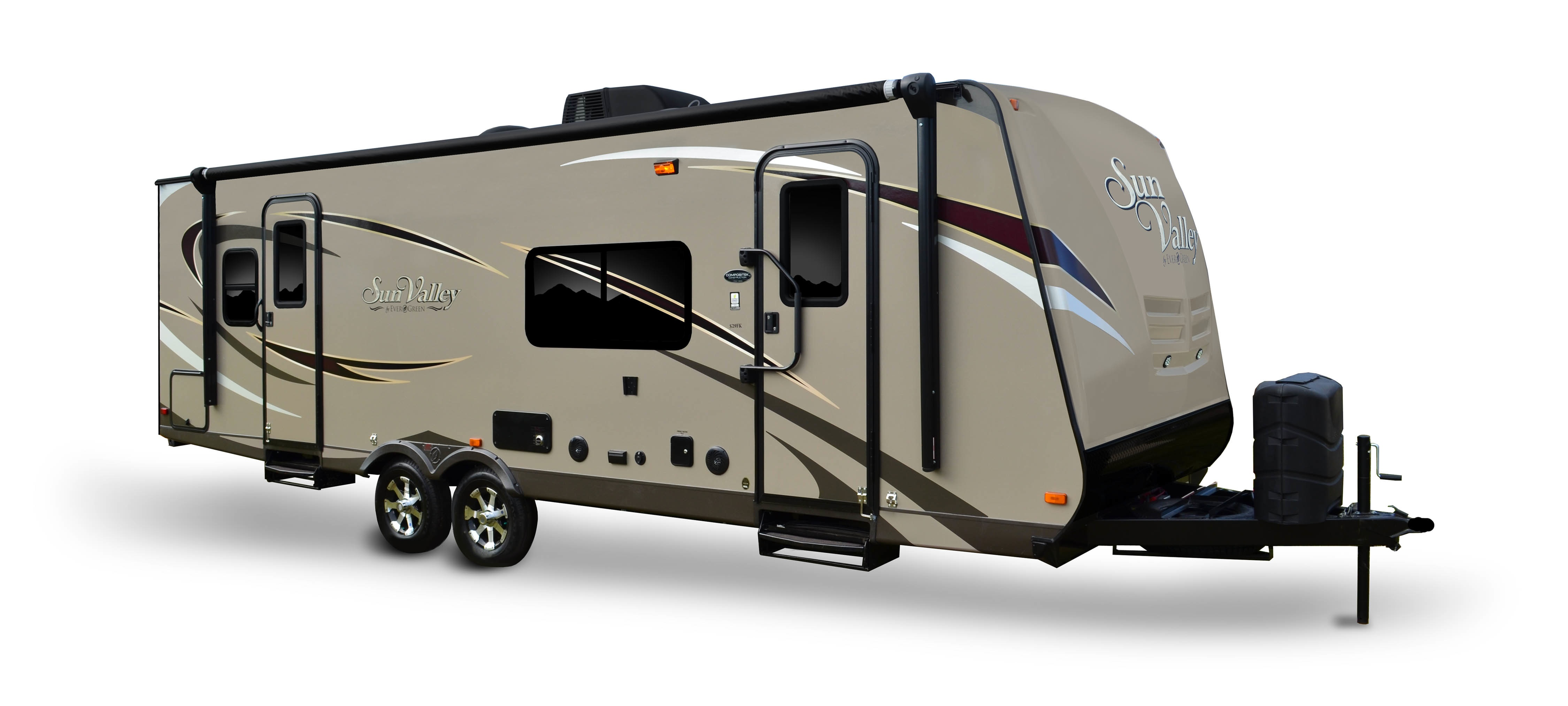 EverGreens New Sun Valley Travel Trailer Now On Lots For