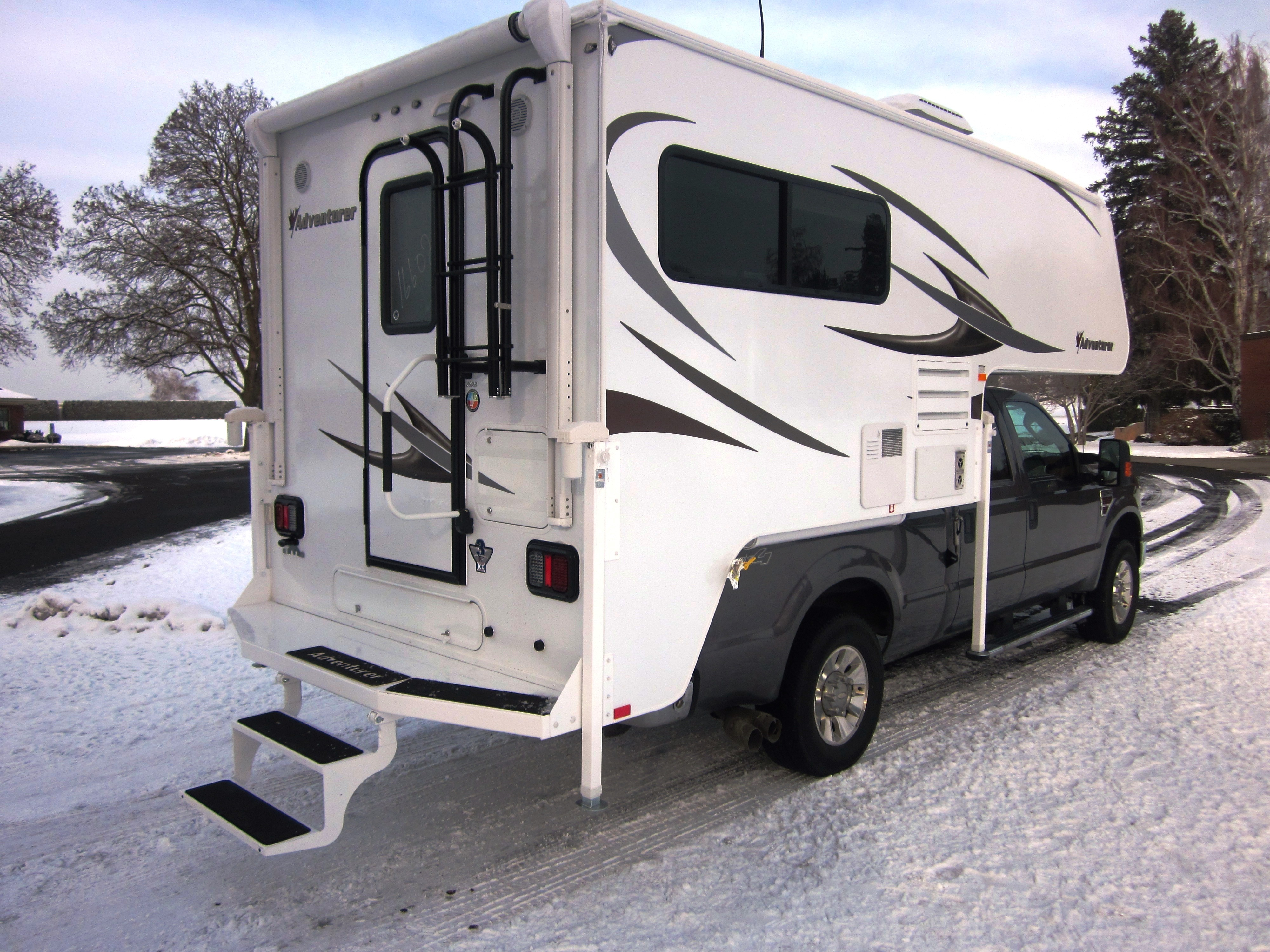 Introduction of the 89RB New Adventurer Truck Camper Floorplan. - RV ...