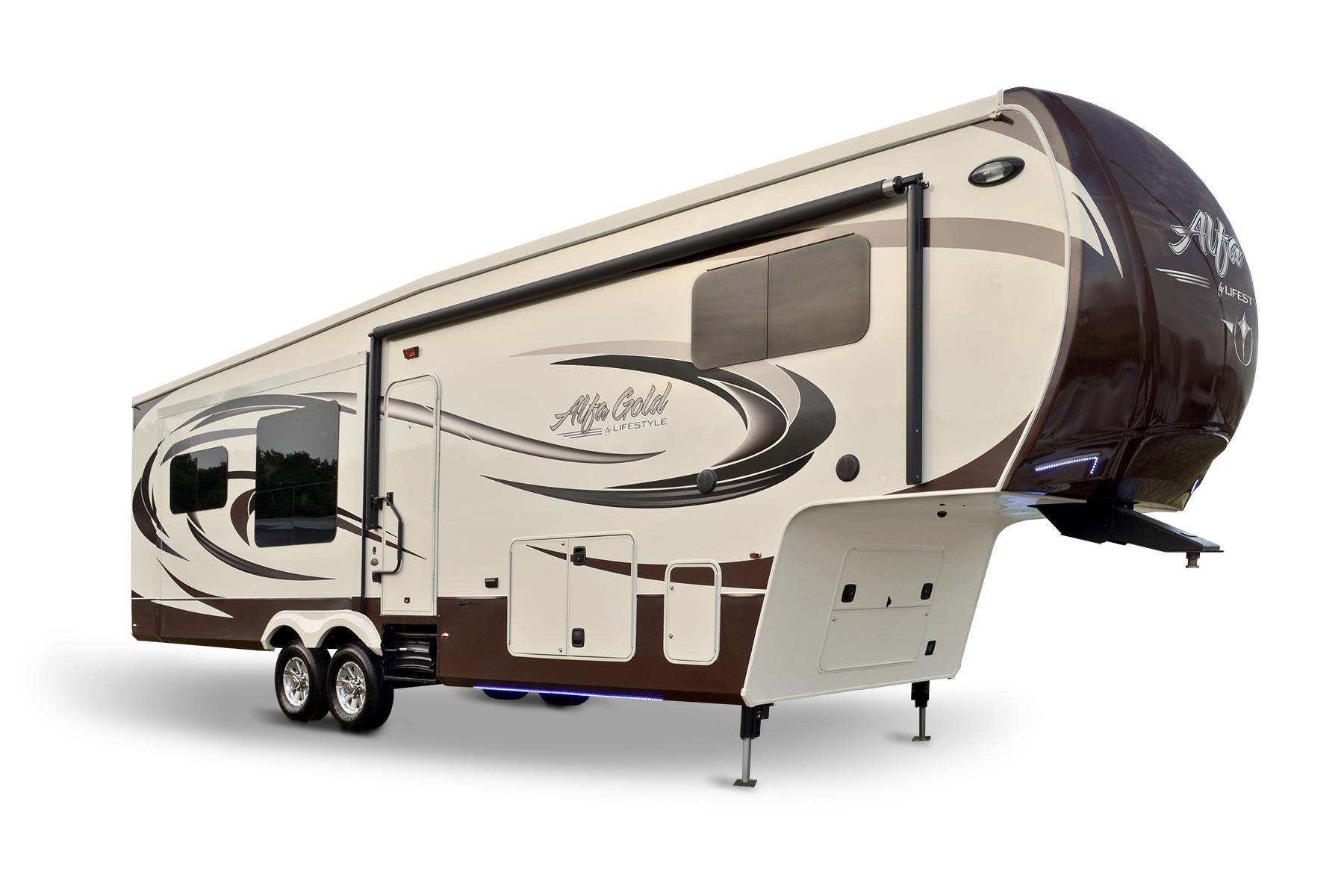 New Alfa Gold fiver by Lifestyle Luxury RV - RV Trader Insider